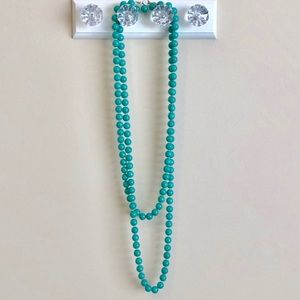 Stella and Dot La Coco Teal Bead necklace